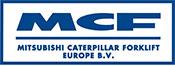 Logo Mitsubishi Caterpillar Forklift