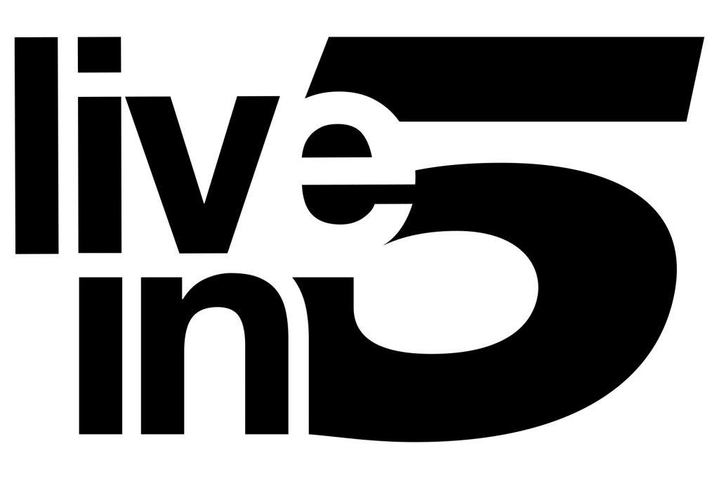 Live in 5 logo