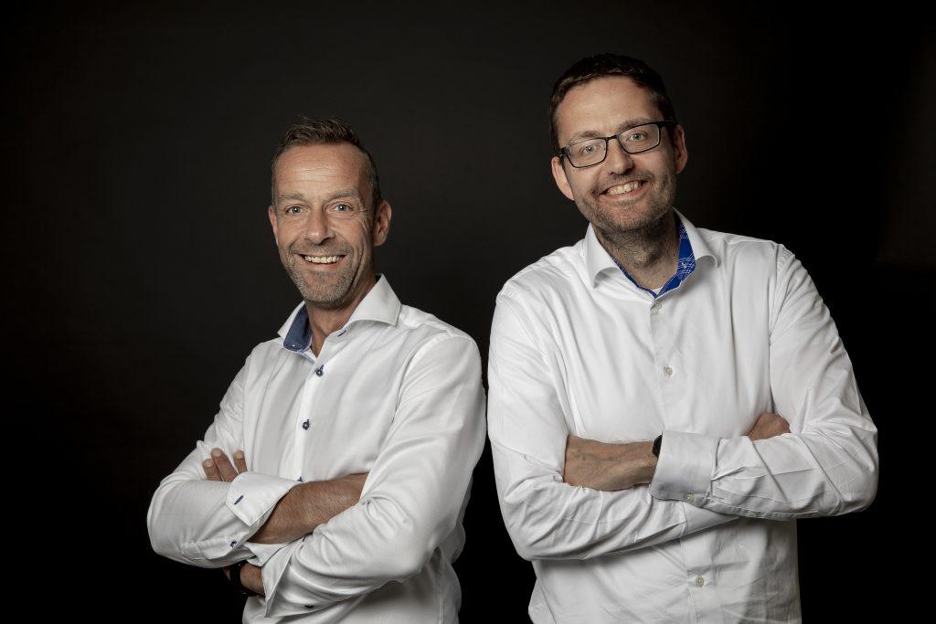 Mark Landman en Huib den Hertog directeuren Pixelzebra Solutions