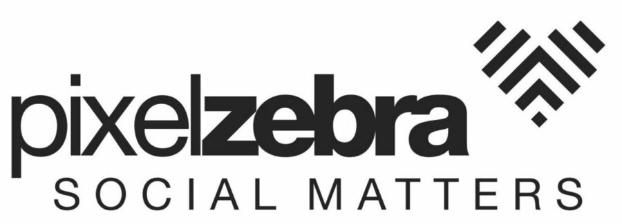 Logo Pixelzebra Social Matters goede doelen CRM